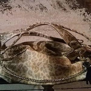 Steve Madden slouchy cheetah print handbag